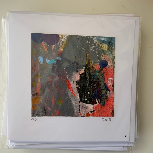 canvas acrylic abstract painting group gift cards j
